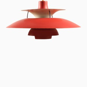 Vintage Model PH5 Pendant Lamp by Poul Henningsen for Louis Poulsen, 1970s