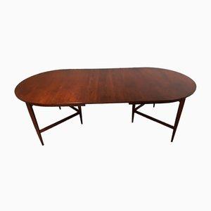 Grande Table de Salle à Manger Extensible Ovale Astrid par Werner Wölfer pour V form, 1960s