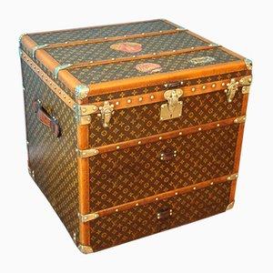 Cube Dampfschifftruhe von Louis Vuitton, 1930er