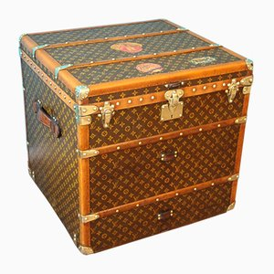Cube Steamer Trunk by Louis Vuitton, 1930s