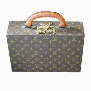 Vintage Jewelry Case Monogramm Canvas von Louis Vuitton