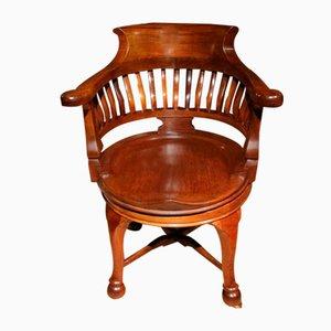 Antiker Captain's Chair
