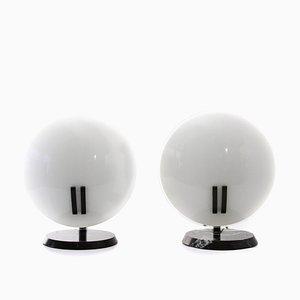 Lampes de Bureau Perla par Bruno Gecchelin pour Oluce, 1980s, Set de 2