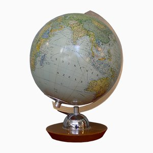 Vintage Glass Globe by Ernst Kremling for JRO-Verlag, 1960s