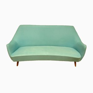 Mid-Century Scandinavian 3-Seat Sofa in the Style of Fritz Hansen, 1960s
