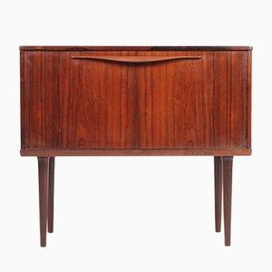 Mid-Century Danish Rosewood Bar Cabinet, 1960s