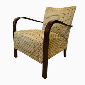 Vintage Czech Armchair, 1940s