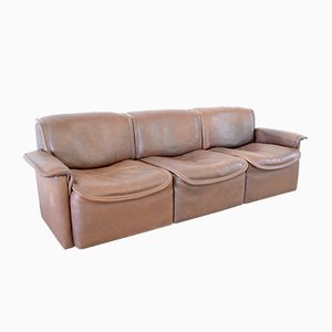 Vintage DS12 3-Sitzer Sofa von de Sede, 1970er