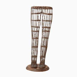 Französische Vintage Ankleide Ladentheke Display Beine