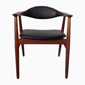 Danish Teak Armchair by Erik Kirkegaard for Glostrup, 1960s