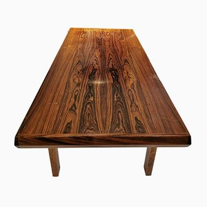 Table Basse en Palissandre de Ganddal Møbelfabrikk, 1969