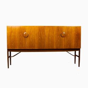 Modell Nr. 4060 Teak Sideboard mit Palisander Griffen von Ib Kofod Larsen für G-Plan, 1960er