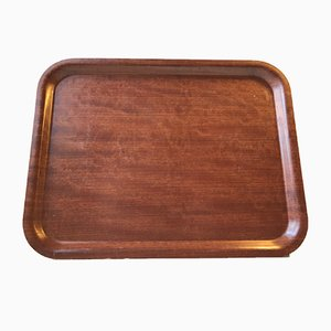 Vintage Danish Teak Serving Tray from Langva, 1960s