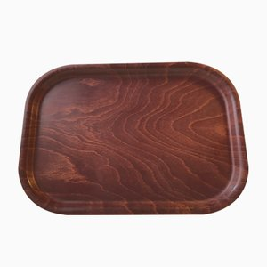 Vintage Danish Teak Serving Tray from Silva, 1960s