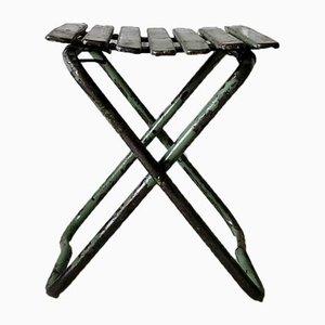 Industrial Metal Folding Chair, 1960s