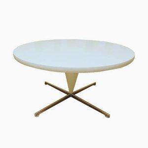 Table Basse Cône Mid-Century Blanche par Verner Panton pour Vitra