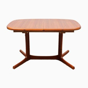 Teak Extendable Dining Table from Dyrlund, 1970s