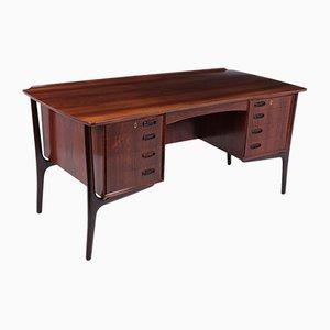 Mid-Century Rosewood Desk by Aksel Bender Madsen for Sigurd Hansen, 1960s