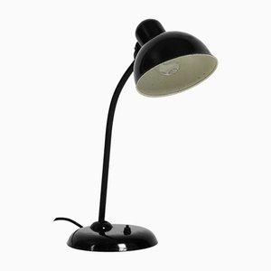 Bauhaus Black Metal Model 6551 Table Lamp by Christian Dell for Kaiser Idell / Kaiser Leuchten, 1940s