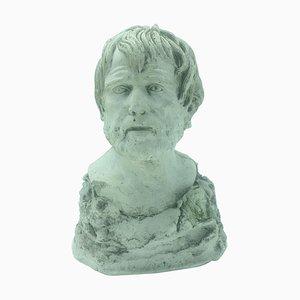 Busto de yeso de Seneca, década de 1900