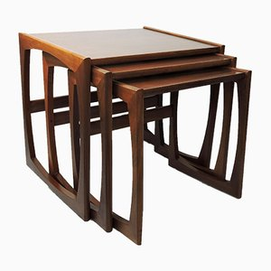 Mid-Century Teak Nesting Tables by Robert Bennett for G-Plan, 1960s