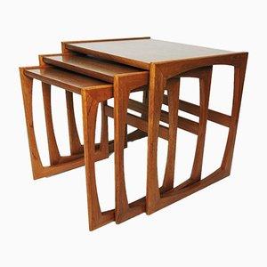 Teak Nesting Tables by Robert Bennett for G-Plan, 1960s