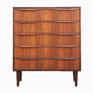 Danish Modern Chest of Drawers in Rosewood, 1950s