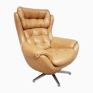 Mid-Century Danish Tilt and Swivel Egg Chair