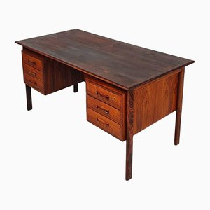Mid-Century Danish Rosewood Executive Desk by Arne Vodder for H. Sigh and Son