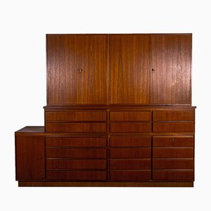 Rosewood Type 1105 Bookcase Showcase Sideboard from Idee Möbel Programme, 1960s