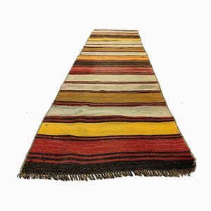 Vintage Turkish Narrow Kilim Runner Rug, 1960s