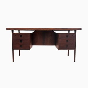 Danish Rosewood Desk with Floating Top by Arne Vodder, 1960s