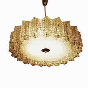 Austrian Glass Chandelier from Austrolux, 1960s