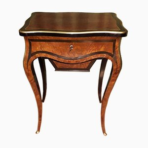 Antique Napoleon III Rosewood Coffee Table from Vervelle