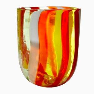 Bicchieri Scaramacai in vetro di Murano di Fuga per Vetrarti, 2004, set di 6