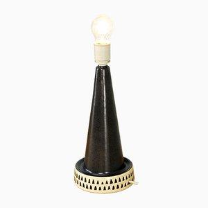 Lampe de Bureau en Céramique de Mørkøv Denmark, 1960s