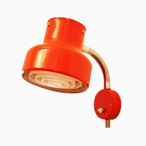 Red Bumling Wall Lamp by Anders Pehrson for Ateljé Lyktan