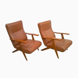 Reclining Armchairs, Italy, 1960s, Set of 2