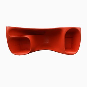 Red Baobab Desk by Philippe Starck for Vitra, 2000s