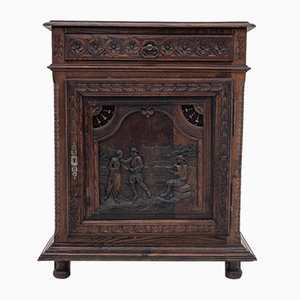 Antique Breton Cabinet, 1880s
