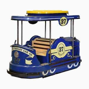 Vintage Fairground Tram Trolley Car from Amutec, 1989