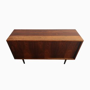 Mid-Century Danish Rosewood Sideboard with Sliding Doors by Aage Hundevad for Hundevad & Co., 1960s