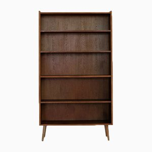 Vintage Oak Bookcase, 1960s