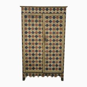 Armoire Antique Rustique Laquée