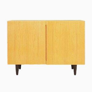 Vintage Danish Ash and Veneer Cabinet, 1970s