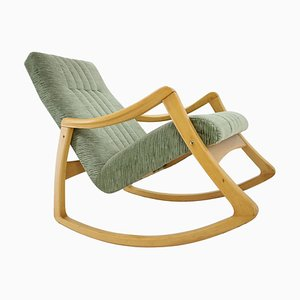 Mid-Century Scandinavian Rocking Chair from Ton, 1970s