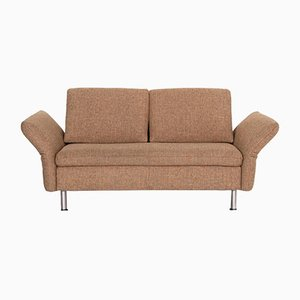 Beige Fabric Vittoria 2-Seat Function Sofa from Koinor