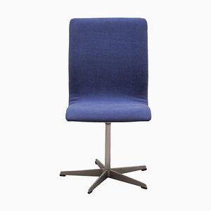 Danish Oxford Desk Chair by Arne Jacobsen for Fritz Hansen, 1963