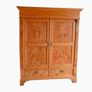 Antique Oak Elm Cabinet