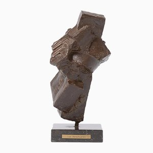 Abstract Bronze Sculpture by Luc Verschueren, 1990s